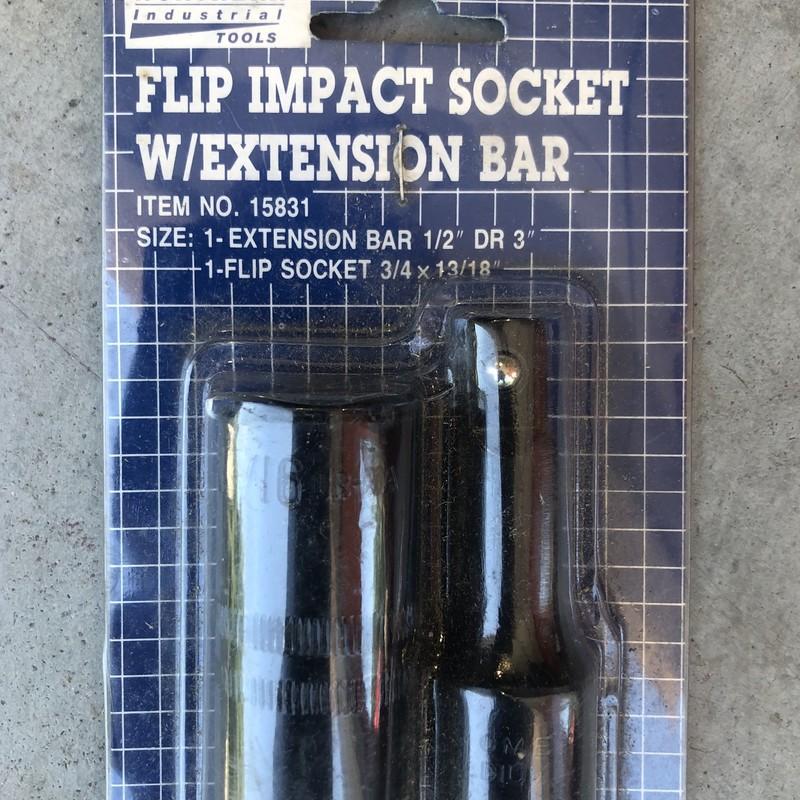 Impact Flip Socket Set.