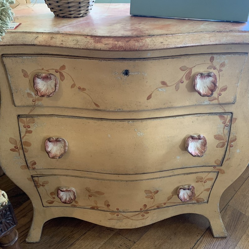 "Italian Made, 3 Drawer Dresser<br /> <br /> 28""H x 27""L x 15""D"