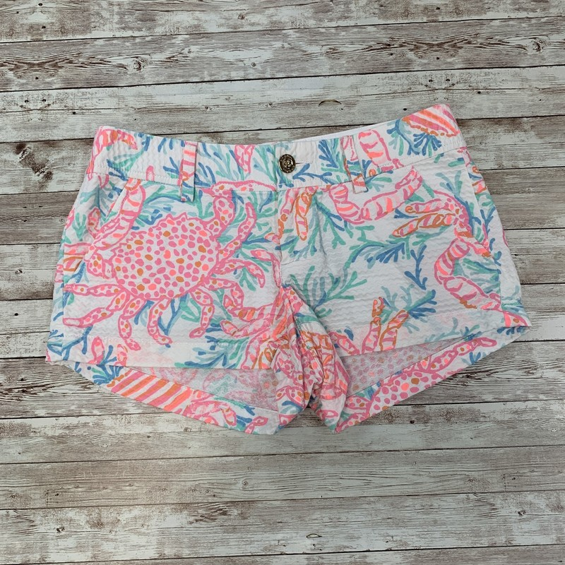 Lilly Pulitzer Shorts, White, Size: Jrs 2