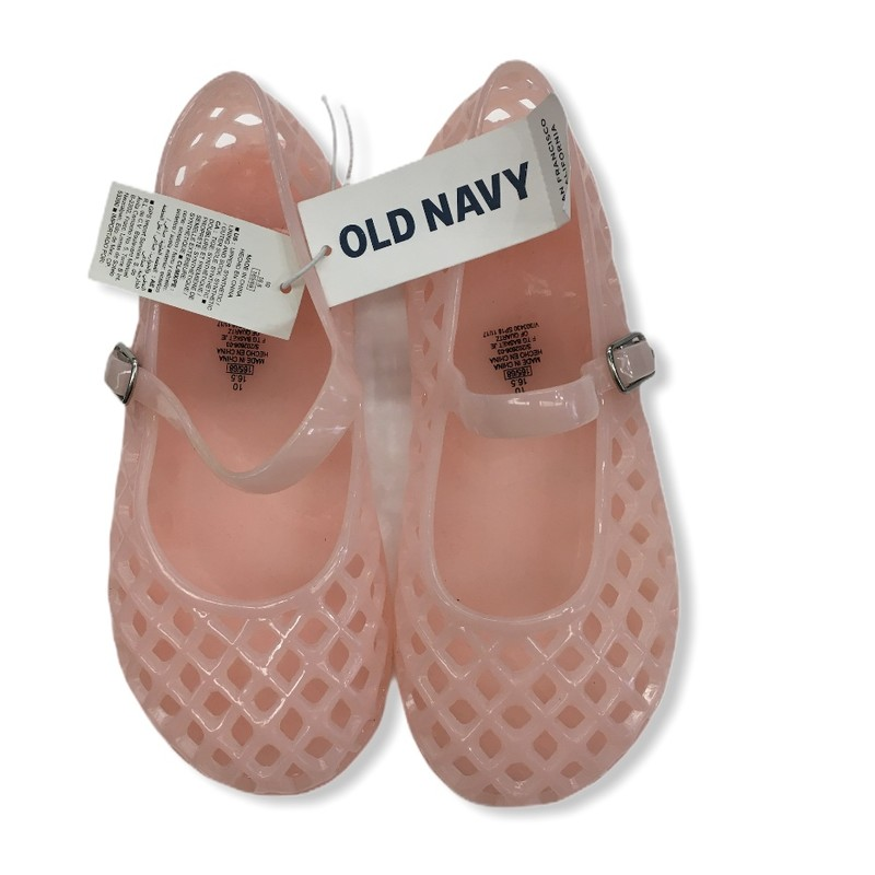 Shoes (pink) NWT, Girl, Size: 10<br /> <br /> #resalerocks #oldnavy #pipsqueakresale #vancouverwa #portland #reusereducerecycle #fashiononabudget #chooseused #consignment #jellyshoes #nwt #savemoney #shoplocal #weship #keepusopen #shoplocalonline #resale #resaleboutique #mommyandme #minime #fashion #reseller                                                                                                                                                 Cross posted, items are located at #PipsqueakResaleBoutique, payments accepted: cash, paypal & credit cards. Any flaws will be described in the comments. More pictures available with link above. Local pick up available at the #VancouverMall, tax will be added (not included in price), shipping available (not included in price), item can be placed on hold with communication, message with any questions. Join Pipsqueak Resale - Online to see all the new items! Follow us on IG @pipsqueakresale & Thanks for looking! Due to the nature of consignment, any known flaws will be described; ALL SHIPPED SALES ARE FINAL. All items are currently located inside Pipsqueak Resale Boutique as a store front items purchased on location before items are prepared for shipment will be refunded.