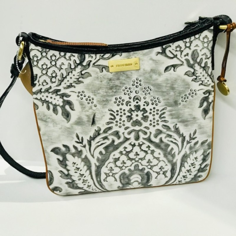 Brahmin Scroll Crossbody Handbag