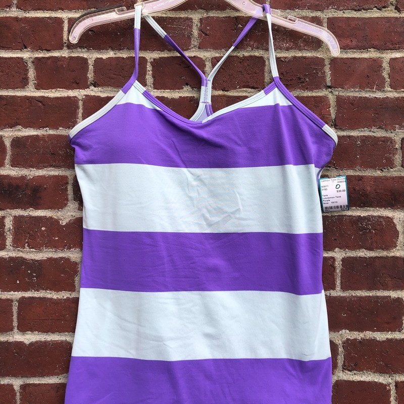 Lululemon Tank, Purple, Size: 10/12