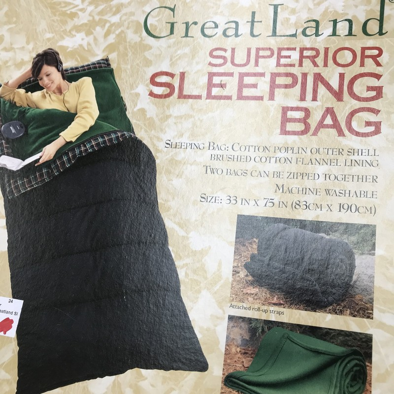NEW Greatland Sleeping Bag