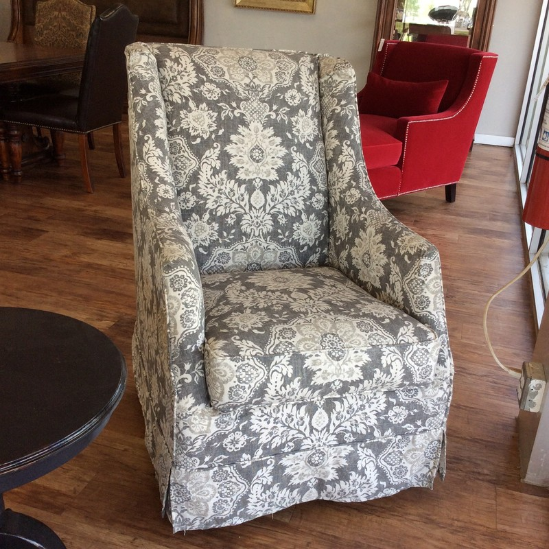 Talk about comfortable, this might just take the cake! It was purchased at Laurie's in Tomball for more than $1500, but today you can buy it here for only $595. It is in excellent condition and best of all, it swivels!