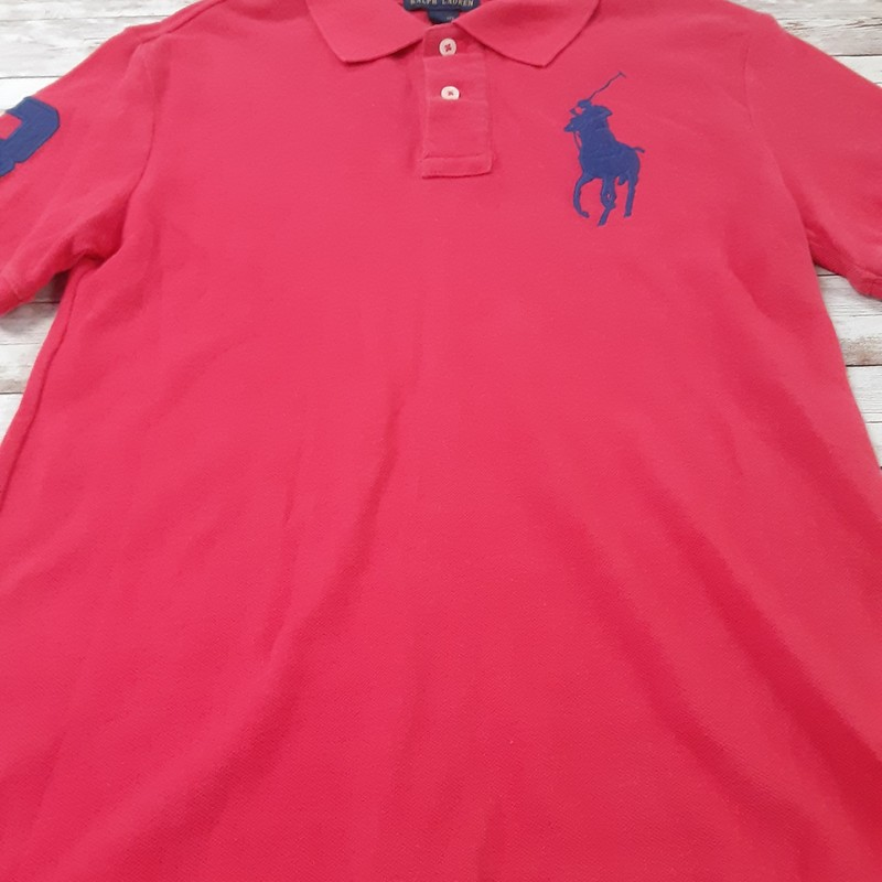 Ralph Lauren Polo, Red, Size: 10/12 Boys