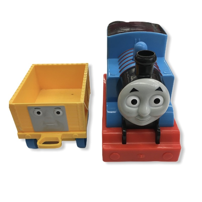 My First Thomas, Toys<br /> <br /> <br /> #resalerocks #pipsqueakresale #vancouverwa #portland #reusereducerecycle #fashiononabudget #chooseused #consignment #savemoney #shoplocal #thomas #train #weship #keepusopen #shoplocalonline #resale #resaleboutique #mommyandme #minime #fashion #reseller                                                                                                                                      Cross posted, items are located at #PipsqueakResaleBoutique, payments accepted: cash, paypal & credit cards. Any flaws will be described in the comments. More pictures available with link above. Local pick up available at the #VancouverMall, tax will be added (not included in price), shipping available (not included in price), item can be placed on hold with communication, message with any questions. Join Pipsqueak Resale - Online to see all the new items! Follow us on IG @pipsqueakresale & Thanks for looking! Due to the nature of consignment, any known flaws will be described; ALL SHIPPED SALES ARE FINAL. All items are currently located inside Pipsqueak Resale Boutique as a store front items purchased on location before items are prepared for shipment will be refunded.