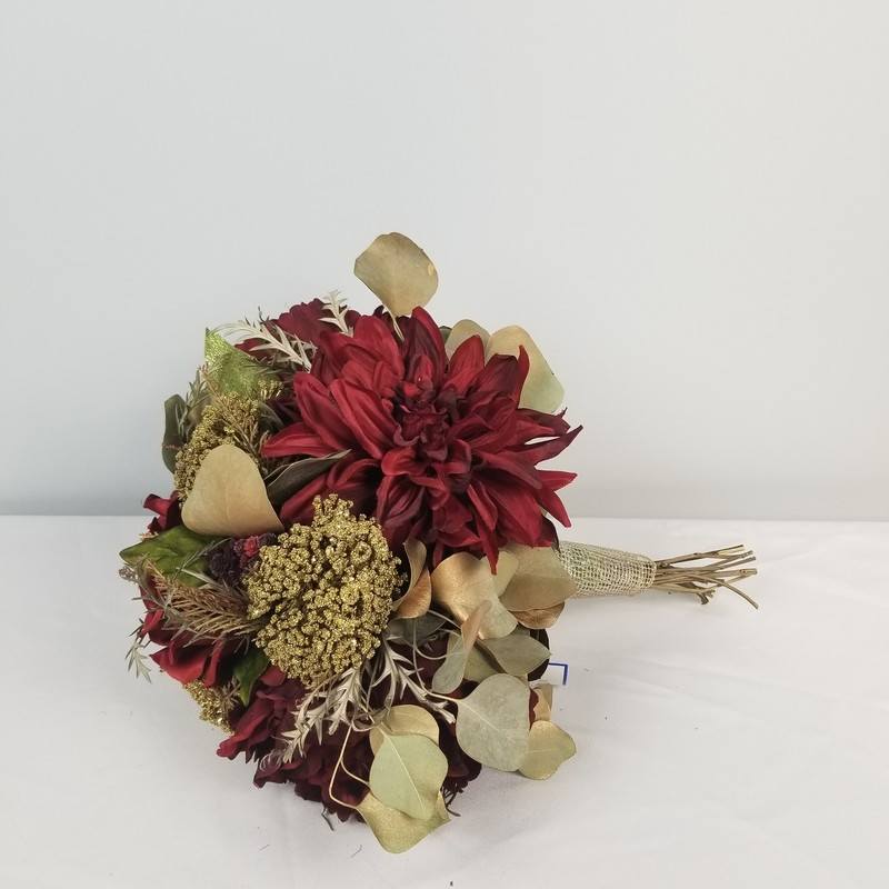 Large Bouquet, Burgundy/Gold, Size: Large<br /> <br /> 1 More Available In Store