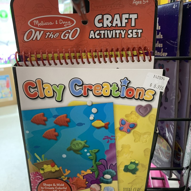 Clay Creations, OnThe Go, Size: Create