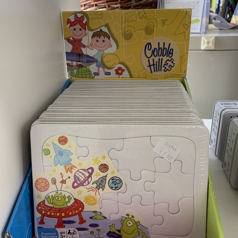 Create Your Own Puzzle, Box, Size: Create