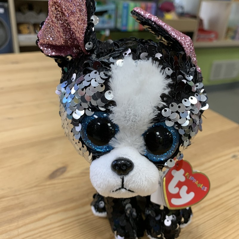 Flip Sequin Patricia, Dog, Size: Plush