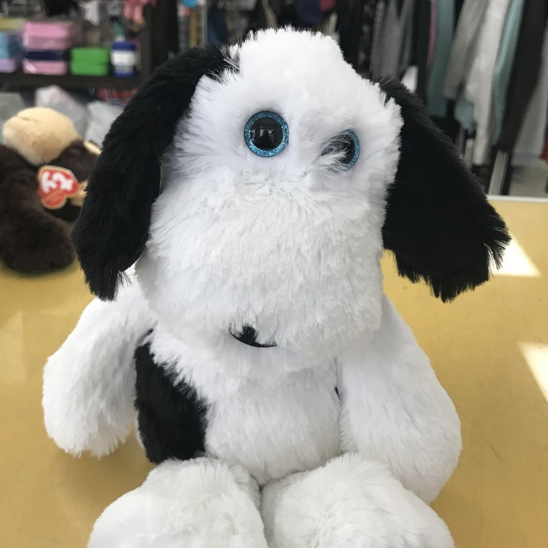 Muggy The Dog, White, Size: Plush