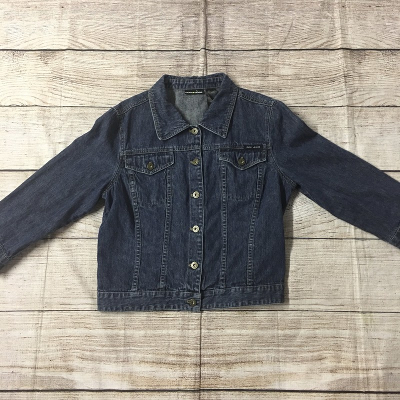 DKNY denim jacket.  Size XL, darkwash, and in perfect condition.