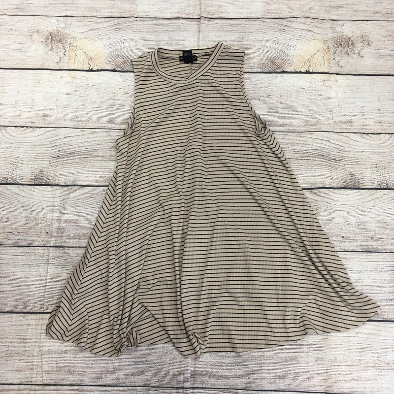 Striped dress, size medium.  In great condition!