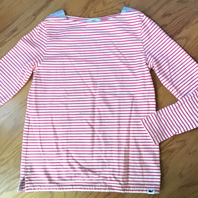 Vineyard Vines Shirt, Pink, Size: XS<br /> <br /> <br /> womens size<br /> <br /> ALL ONLINE SALES ARE FINAL. NO RETURNS OR EXCHANGES. PLEASE ALLOW 1 TO 2 WEEKS FOR SHIPMENT.