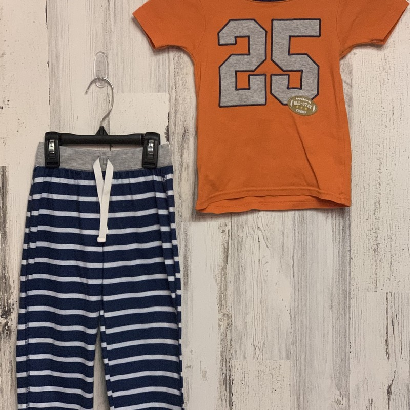 Carters, Orange, Size: 4T