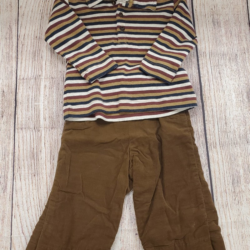Caramel Baby 2 Pc, Brown, Size: 6 Mos B