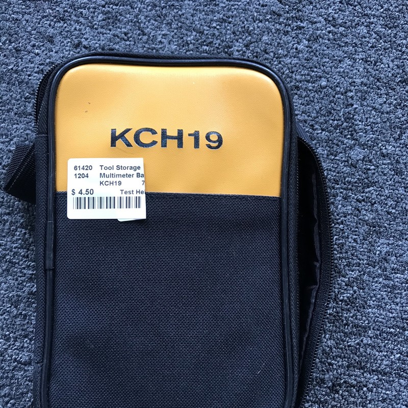 Multimeter Bag,  Test Helper KCH19