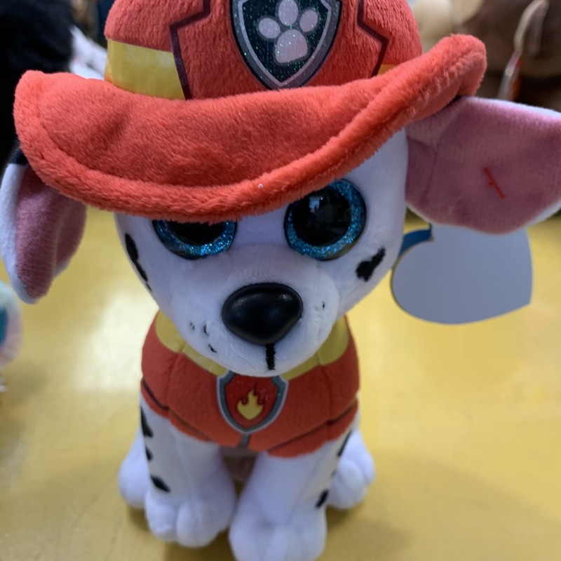 Marshall Paw Patrol Small, White, Size: Plush