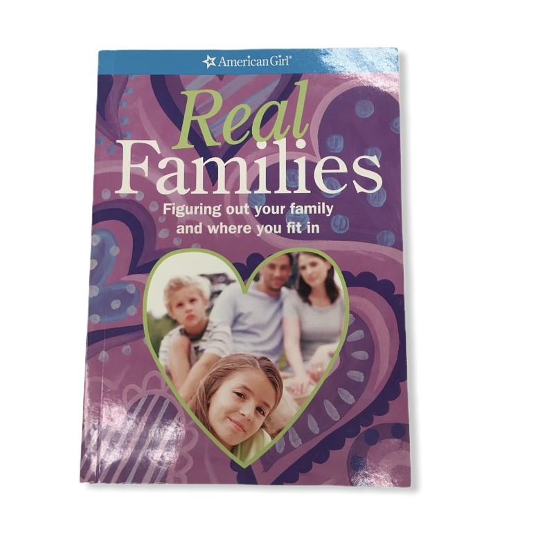 Real Families: Figure out your family and where you fit in, Book<br /> <br /> #resalerocks #books  #pipsqueakresale #vancouverwa #portland #reusereducerecycle #fashiononabudget #chooseused #consignment #savemoney #shoplocal #weship #keepusopen #shoplocalonline #resale #resaleboutique #mommyandme #minime #fashion #reseller                                                                                                                                      Cross posted, items are located at #PipsqueakResaleBoutique, payments accepted: cash, paypal & credit cards. Any flaws will be described in the comments. More pictures available with link above. Local pick up available at the #VancouverMall, tax will be added (not included in price), shipping available (not included in price), item can be placed on hold with communication, message with any questions. Join Pipsqueak Resale - Online to see all the new items! Follow us on IG @pipsqueakresale & Thanks for looking! Due to the nature of consignment, any known flaws will be described; ALL SHIPPED SALES ARE FINAL. All items are currently located inside Pipsqueak Resale Boutique as a store front items purchased on location before items are prepared for shipment will be refunded.