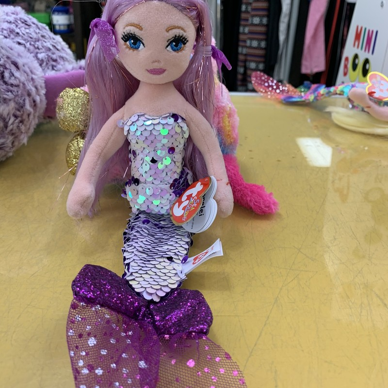Mermaid Purple, Lorelei, Size: Plush