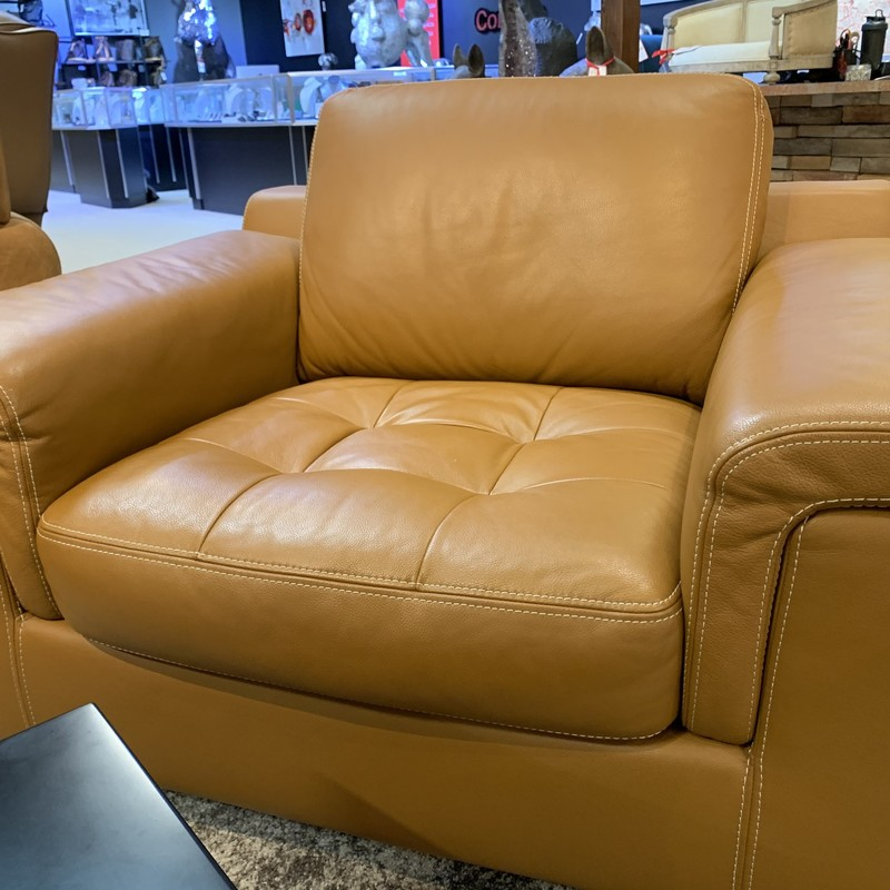 Leather LR Chair, G6, Size: KMH
