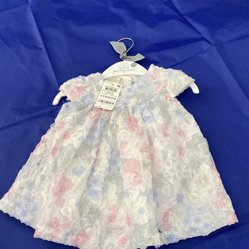 *NWT* First Impression, Floral, Size: 0-3m