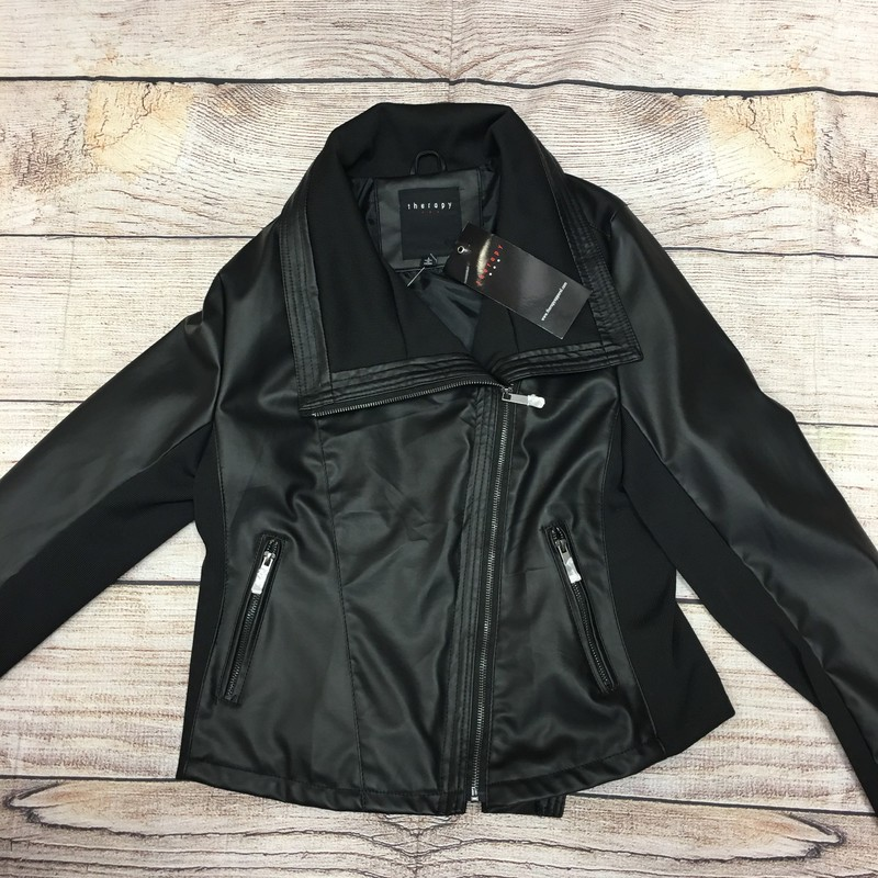 New Jacket, Black, Size: Large