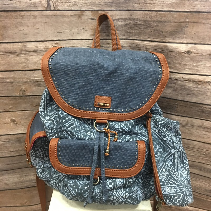 The Sak Backpack, Denimn, Size: None