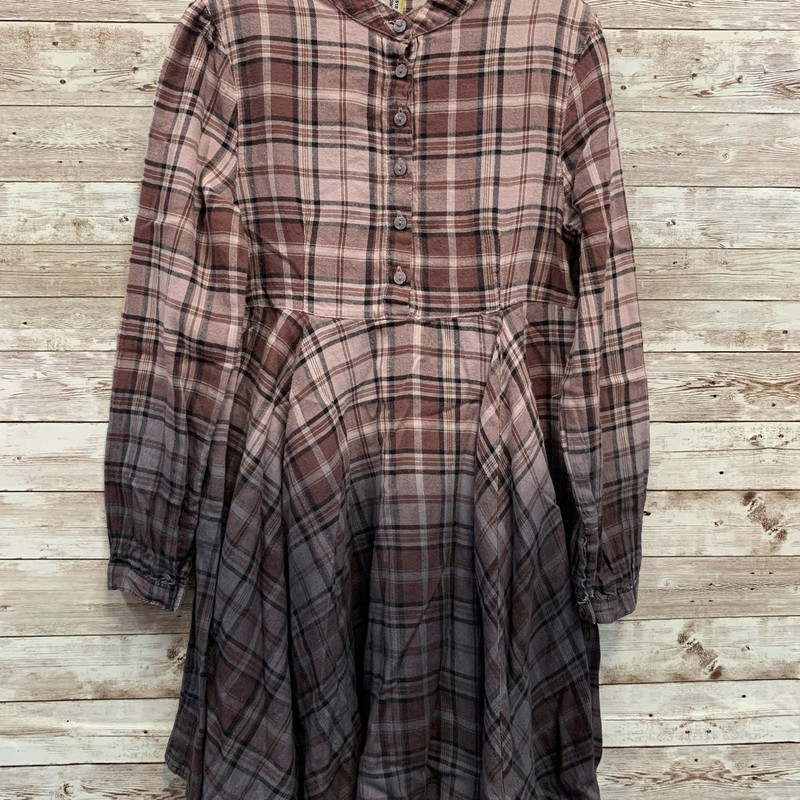Bennetton Plaid Dress.