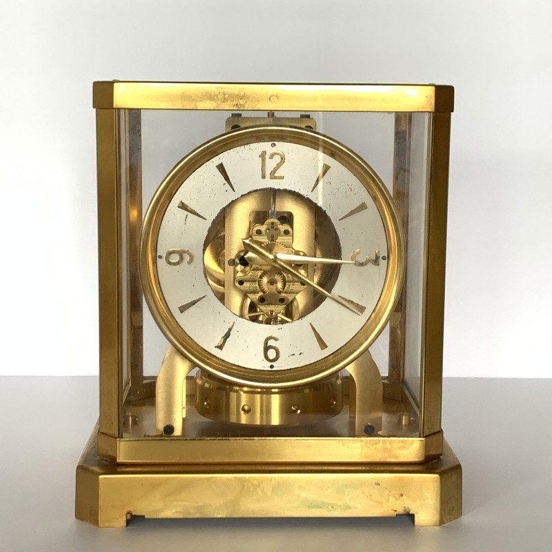 This gold phantom clock is a wonder of the world. Some items are perpetually before their time.