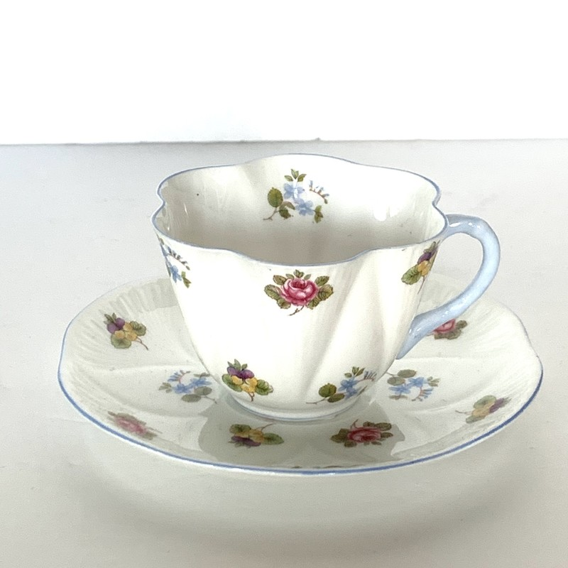 Collector Shelley bone china teacup.
