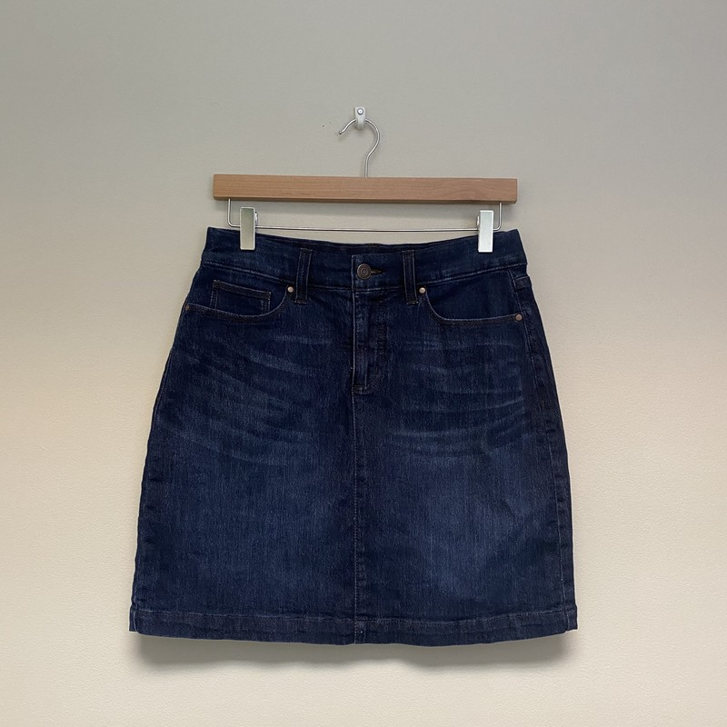 Croft&Barrow Jean Skirt.