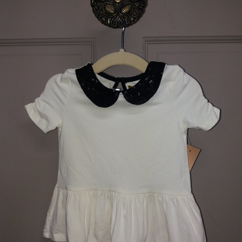 Nicole Millen Top (scalloped neck)