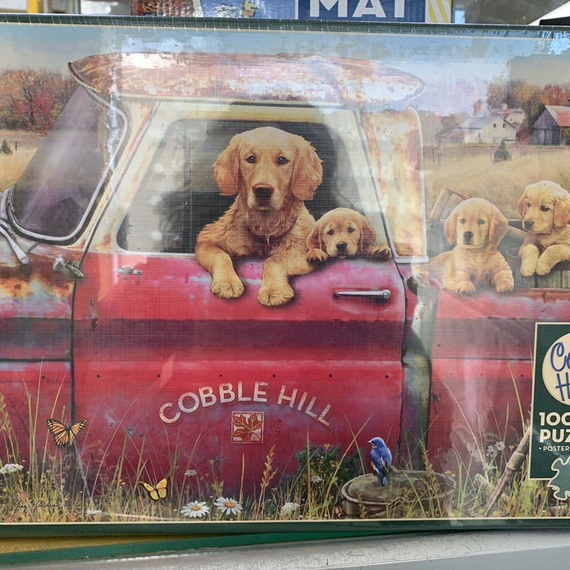 Retriever 1000 P Puzzle, Farm, Size: Puzzle