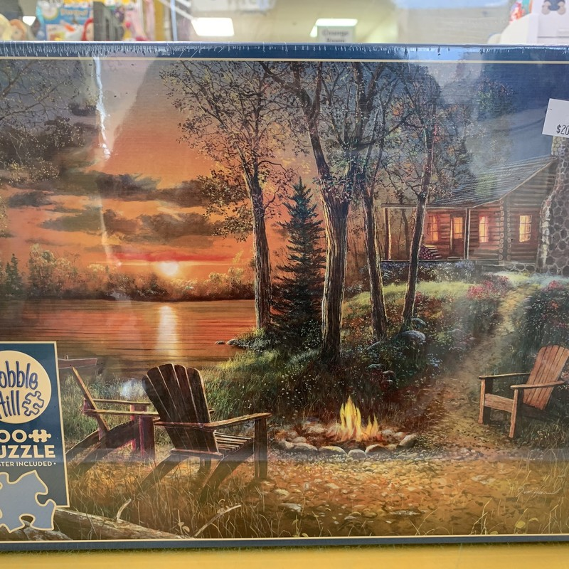 Fireside 500 P Puzzle, N/A, Size: Puzzle