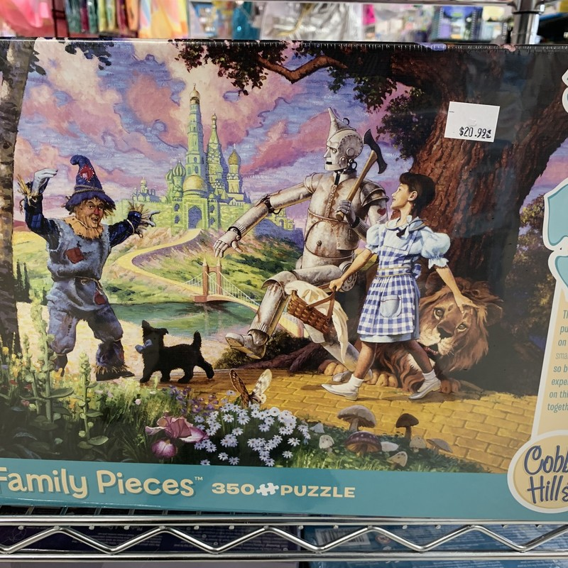 Wizard Of Oz 350 P Puzzle, Family, Size: Puzzle