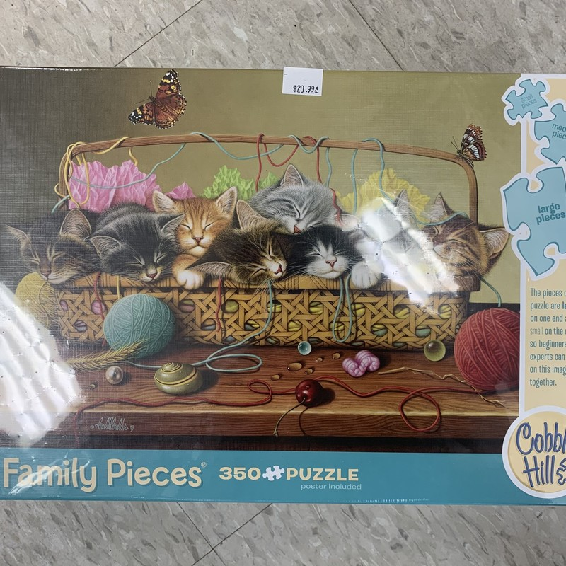 Kitten 350 P Puzzle, Family, Size: Puzzle