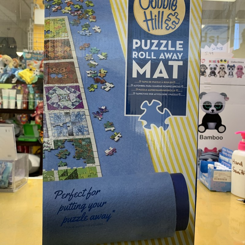 "Puzzle Roll Away Mat, 30""x48"", Size: Puzzle"
