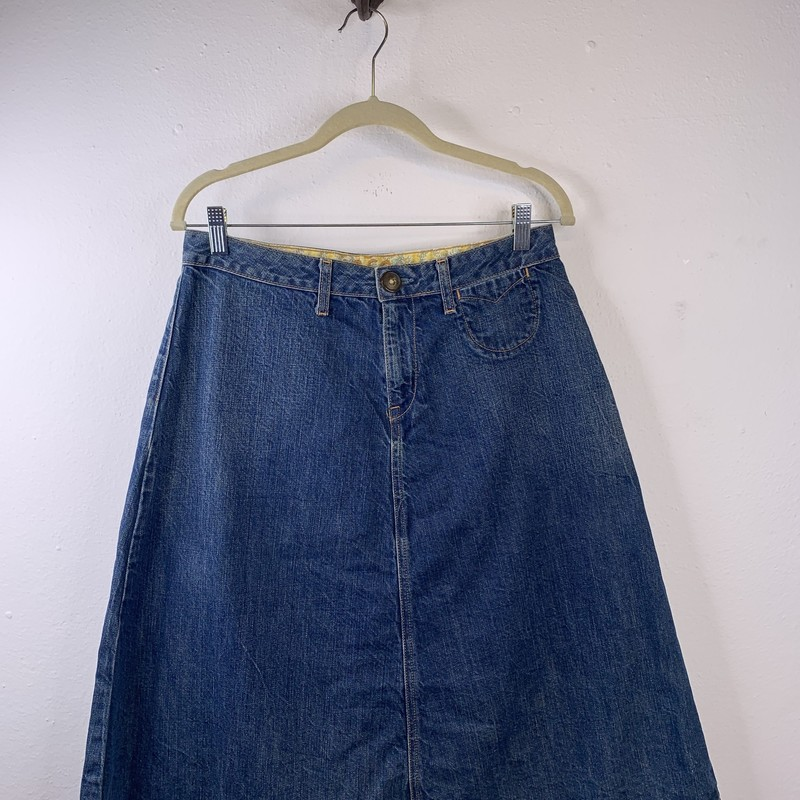 1989 Skirt, Denim, Size: 8