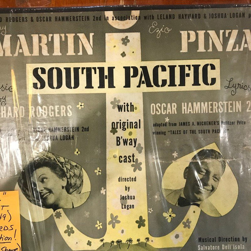 Original South Pacific LPs<br /> 1949 Broadway Cast Recording<br /> all in Excellent Condition and ready<br /> to be played on your record player!
