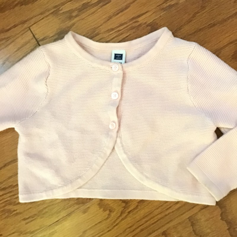 Janie Jack Cardigan, Pink, Size: 18-24m<br /> <br /> <br /> <br /> ALL SALES ARE FINAL. NO RETURNS OR EXCHANGES. PLEASE ALLOW 1 WEEK FOR SHIPMENT.