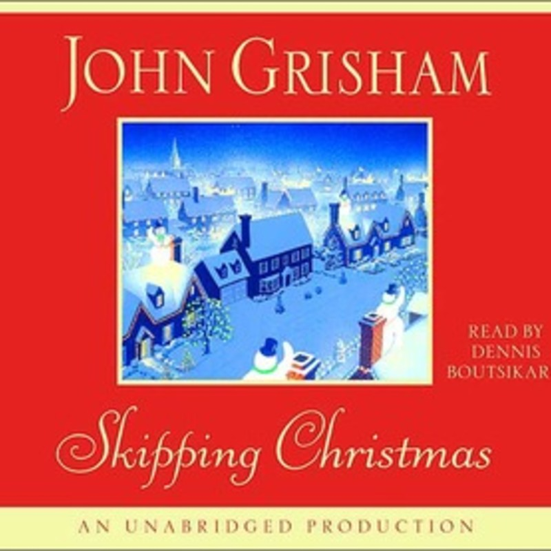 Audio CD<br /> <br /> Skipping Christmas<br /> by John Grisham (Goodreads Author), Dennis Boutsikaris (Narrator)<br /> <br /> Four CDs, 4 hrs. unabridged<br /> Read by Dennis Boutsikaris<br /> <br /> Imagine a year without Christmas. No crowded malls, no corny office parties, no fruitcakes, no unwanted presents. That's just what Luther and Nora Krank have in mind when they decide that, just this once, they'll skip the holiday altogether. Theirs will be the only house on Hemlock Street without a rooftop Frosty; they won't be hosting their annual Christmas Eve bash; they aren't even going to have a tree. They won't need one, because come December 25 they're setting sail on a Caribbean cruise. But, as this weary couple is about to discover, skipping Christmas brings enormous consequences–and isn't half as easy as they'd imagined.<br /> <br /> A classic tale for modern times, Skipping Christmas offers a hilarious look at the chaos and frenzy that have become part of our holiday tradition.
