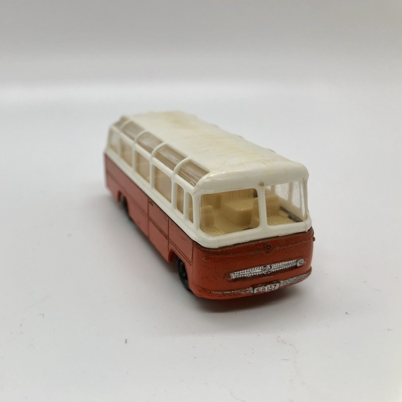 Vintage Lesney Matchbox #68 Mercedes Coach in really nice used condition. c.1960s. A great addition to your collection. No box.<br /> Priority shipping.
