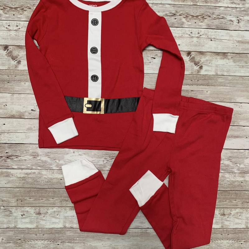 Carters Pjs, Red, Size: 4T Boys