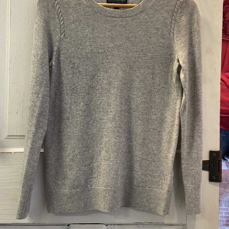 Grey Wool Sweater<br /> Grey<br /> Size: S Ret $98