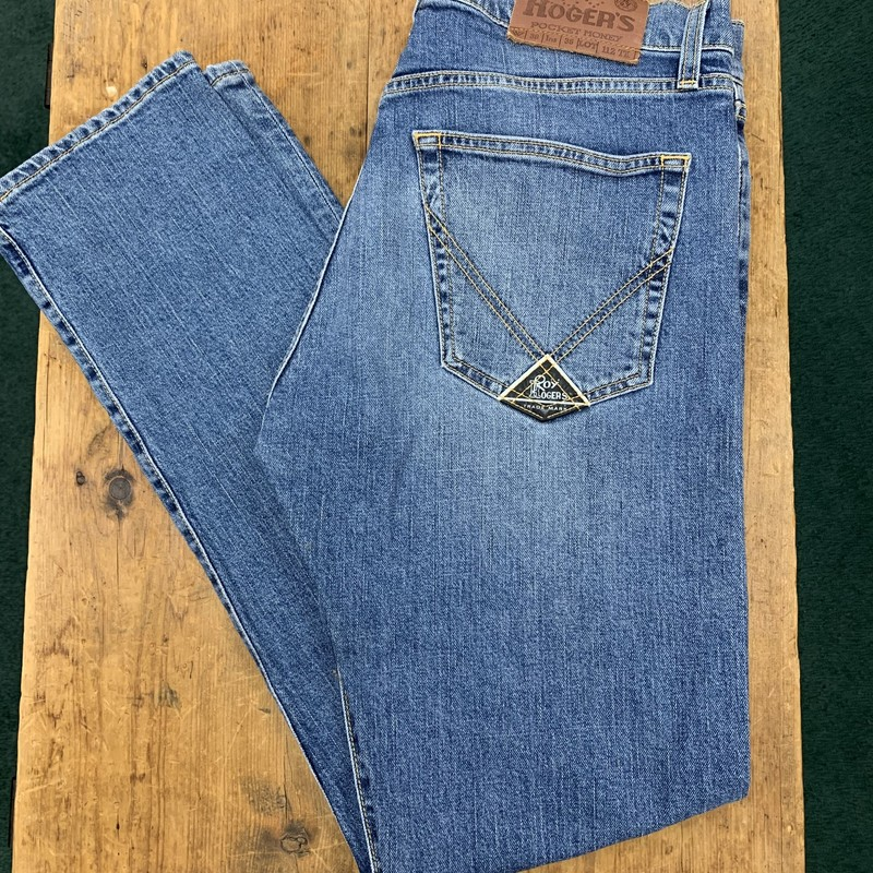 Roy Rogers<br /> Color: Denim<br /> Size: 38W 32L<br /> Condition: Excellent