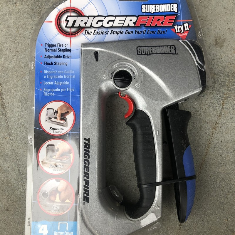 Trigger Fire Staple Gun.