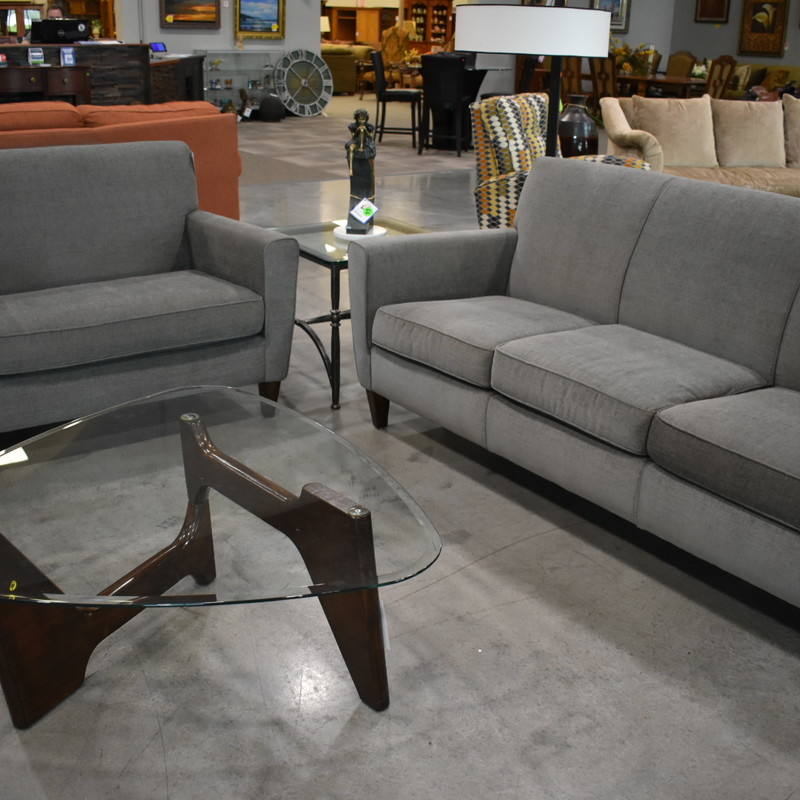 Grey Flexsteel Sofa