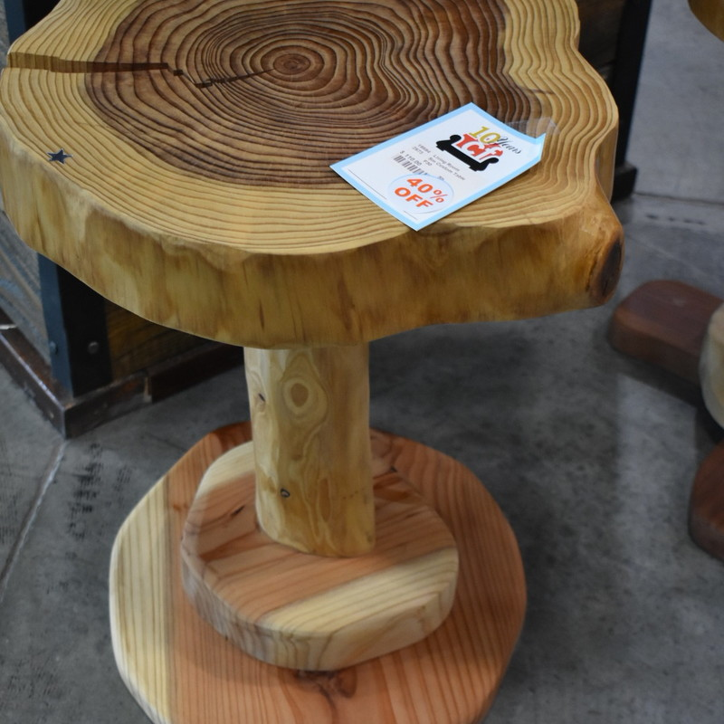 Round Small Custom made end table