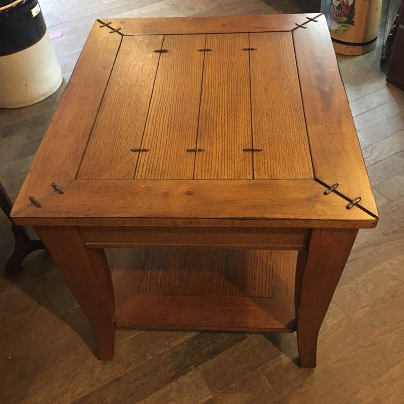 "Rustic End Table 24"" x 28"" x 24"""